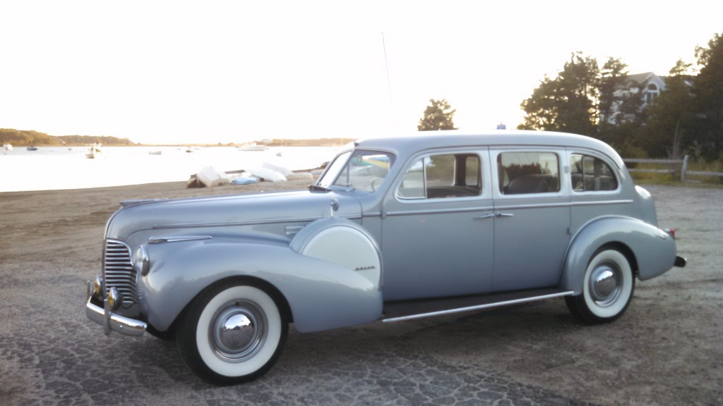 "1940 Buick 90 series limited touring limousine, ""Eleanor"""